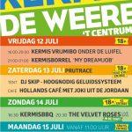 Programma Kermis De Weere 2019