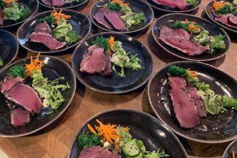 Voorgerecht tonijn salade