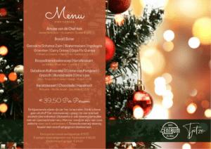 Kerstdiner 2020 café 't centrum