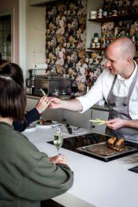 Tjitze van der Dam chef-kok